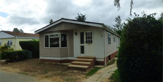 Asking Price £99,950, 3 Bedroom Mobile Home For Sale in Great Bricett, IP7
