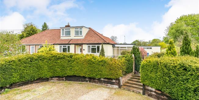 Offers Over £425,000, 4 Bedroom Semi Detached Bungalow For Sale in Hadleigh, IP7