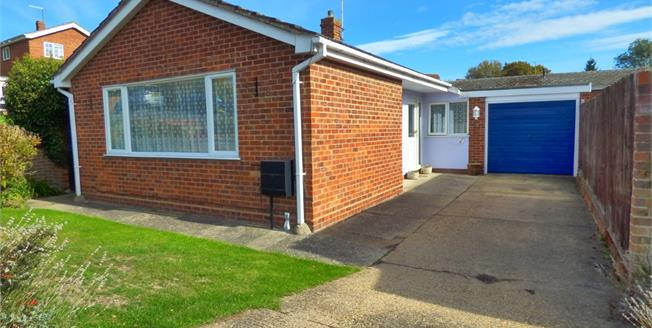 Offers Over £280,000, 3 Bedroom Detached Bungalow For Sale in Hadleigh, IP7