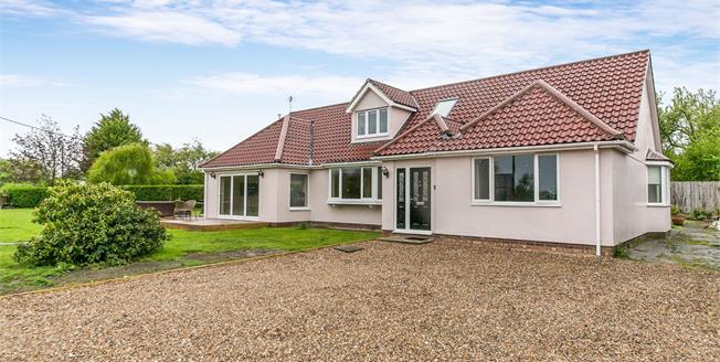 Asking Price £675,000, 5 Bedroom Detached Bungalow For Sale in Hintlesham, IP8