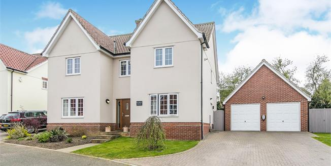 Asking Price £490,000, 4 Bedroom Detached House For Sale in Hadleigh, IP7