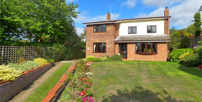 Offers Over £435,000, 4 Bedroom Detached House For Sale in Capel St. Mary, IP9