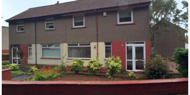 Offers Over £77,500, 2 Bedroom House For Sale in Rutherglen, G73
