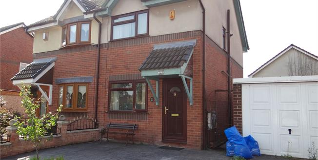 Offers in the region of £100,000, 2 Bedroom Semi Detached House For Sale in Newton-le-Willows, WA12