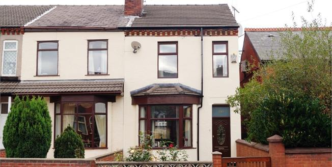 Offers Over £100,000, 3 Bedroom End of Terrace House For Sale in Newton-le-Willows, WA12