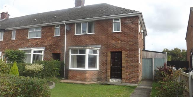 Offers Over £110,000, 3 Bedroom End of Terrace House For Sale in St. Helens, WA11