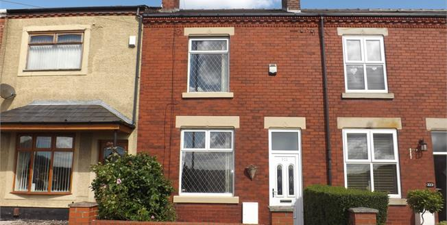 Offers Over £120,000, 2 Bedroom Terraced House For Sale in Ashton-in-Makerfield, WN4