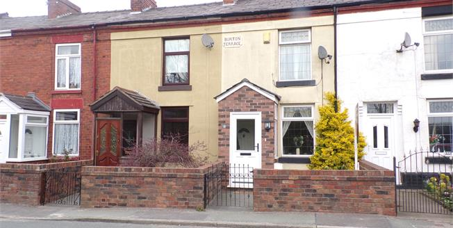 Offers Over £90,000, 2 Bedroom Terraced House For Sale in Collins Green, WA5