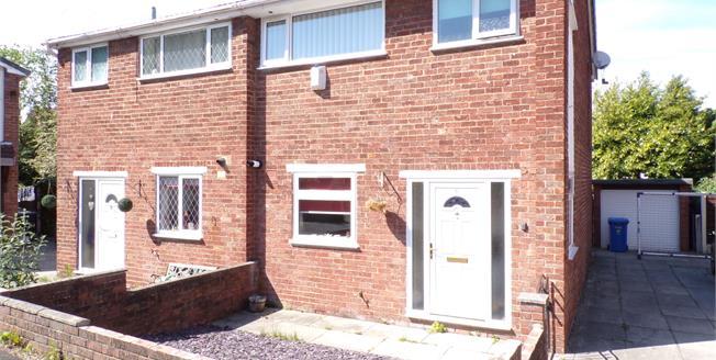 Offers Over £140,000, 3 Bedroom Semi Detached House For Sale in Burtonwood, WA5