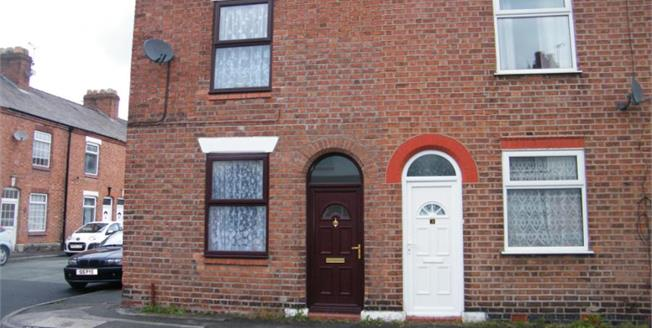 £80,000, 2 Bedroom Terraced House For Sale in Northwich, CW8