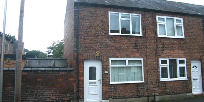 £100,000, 2 Bedroom End of Terrace For Sale in Northwich, CW9