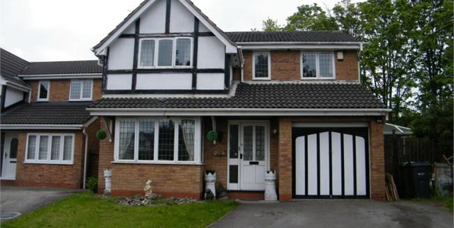 £230,000, 4 Bedroom Detached House For Sale in Rudheath, CW9