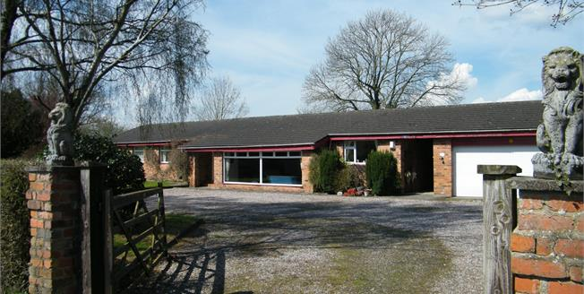 Offers in the region of £500,000, 4 Bedroom Detached Bungalow For Sale in Rudheath, CW9