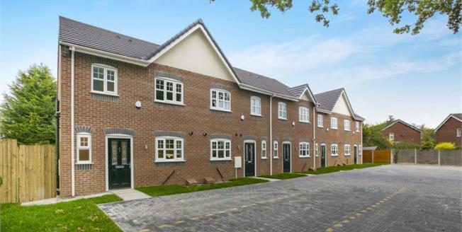 £184,950, 3 Bedroom Mews House For Sale in Northwich, CW8