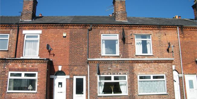 Offers Over £85,000, 2 Bedroom Terraced House For Sale in Northwich, CW9