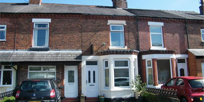 Guide Price £125,000, 3 Bedroom Terraced House For Sale in Rudheath, CW9