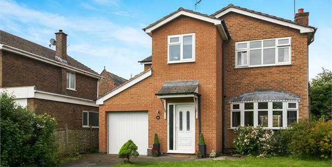Asking Price £360,000, 4 Bedroom Detached House For Sale in Comberbach, CW9