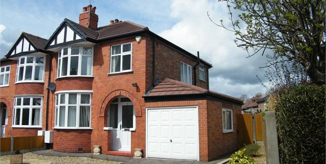 £230,000, 3 Bedroom Semi Detached House For Sale in Northwich, CW8