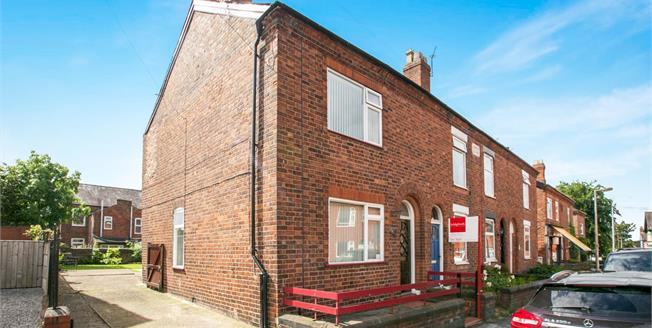 Asking Price £125,000, 2 Bedroom End of Terrace House For Sale in Barnton, CW8