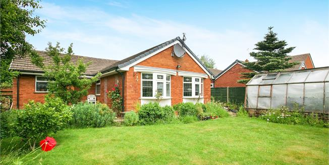 Asking Price £290,000, 3 Bedroom Detached Bungalow For Sale in Hartford, CW8