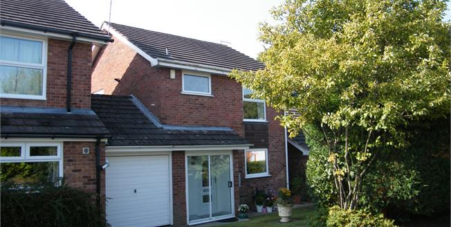 Guide Price £220,000, 3 Bedroom Link Detached House For Sale in Cuddington, CW8