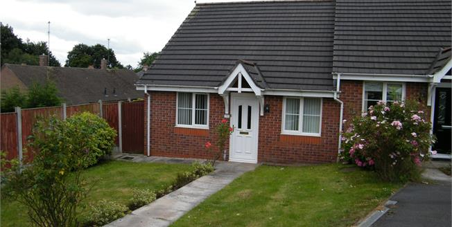 Asking Price £145,000, 2 Bedroom Semi Detached Bungalow For Sale in Northwich, CW8