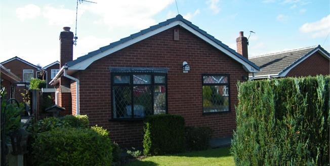 Offers in the region of £225,000, 2 Bedroom Detached Bungalow For Sale in Antrobus, CW9