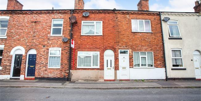 Offers in the region of £105,000, 2 Bedroom Terraced House For Sale in Northwich, CW9
