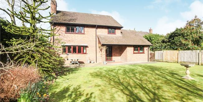 Offers in the region of £475,000, 4 Bedroom Detached House For Sale in Sandiway, CW8