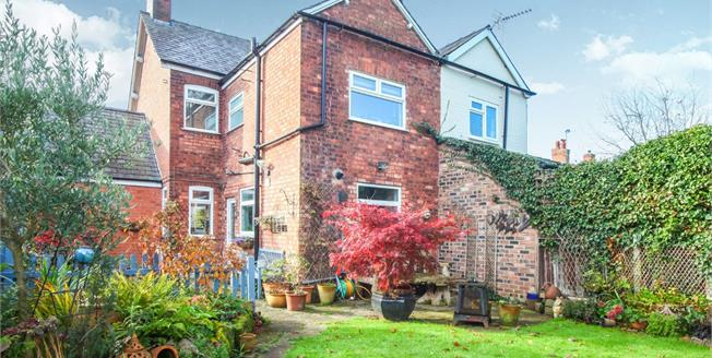 Offers in the region of £315,000, 3 Bedroom Semi Detached House For Sale in Cuddington, CW8