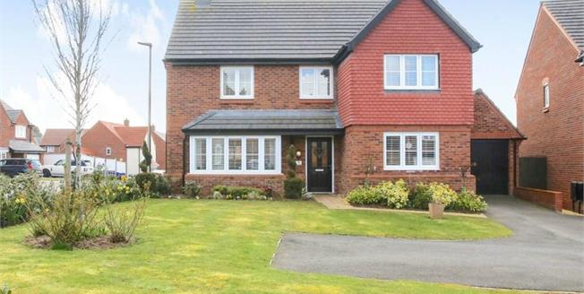 Offers in excess of £450,000, 5 Bedroom Detached House For Sale in Cuddington, CW8