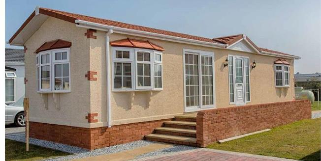 £125,000, 2 Bedroom Detached Mobile Home For Sale in Bartington, CW8