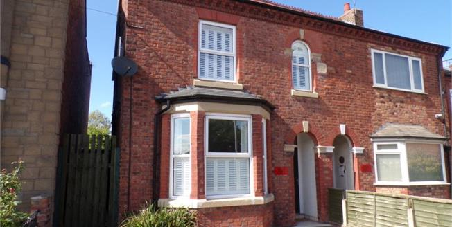 Offers in the region of £230,000, 3 Bedroom Semi Detached House For Sale in Northwich, CW9