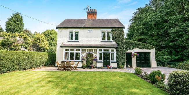 Asking Price £400,000, 3 Bedroom Detached House For Sale in Sandbach, CW11