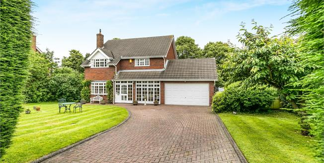Guide Price £475,000, 4 Bedroom Detached House For Sale in Sandbach, CW11