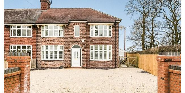Offers in the region of £400,000, 4 Bedroom Semi Detached House For Sale in Warmingham, CW11
