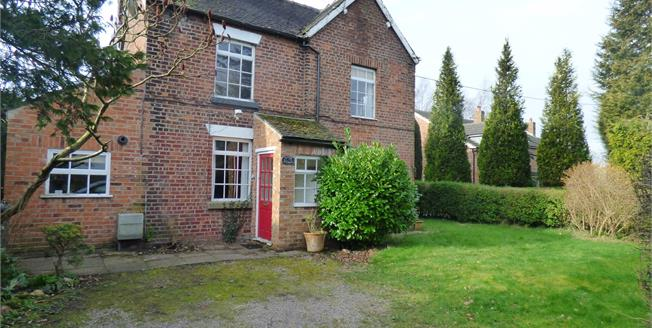 Guide Price £205,000, 2 Bedroom Semi Detached House For Sale in Winterley, CW11