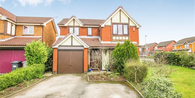 Offers Over £220,000, 4 Bedroom Detached House For Sale in Ettiley Heath, CW11