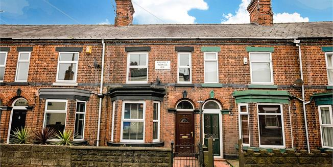 Offers Over £124,995, 2 Bedroom Terraced House For Sale in Cheshire, CW11