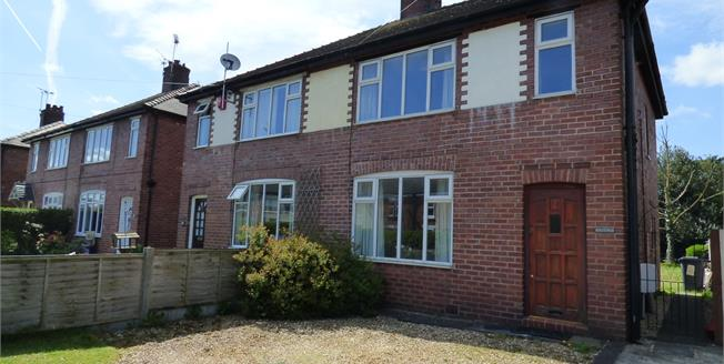 Asking Price £160,000, 3 Bedroom Semi Detached House For Sale in Sandbach, CW11