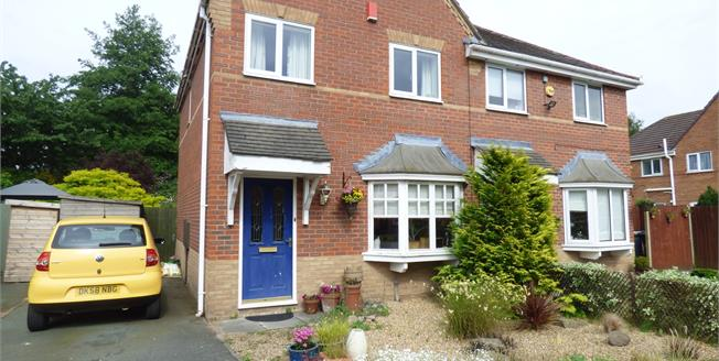 Asking Price £155,000, 3 Bedroom Semi Detached House For Sale in Ettiley Heath, CW11