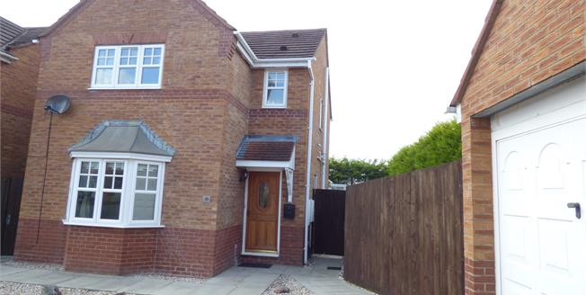 Asking Price £199,000, 3 Bedroom Detached House For Sale in Sandbach, CW11