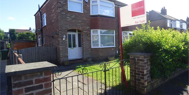 Offers Over £295,000, 3 Bedroom Semi Detached House For Sale in Sale, M33