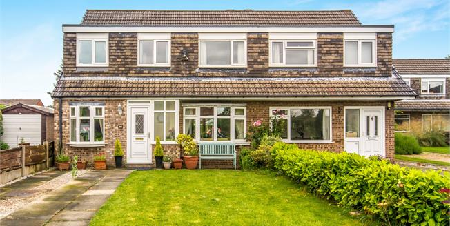 Asking Price £300,000, 4 Bedroom Semi Detached House For Sale in Greater Manchester, M33