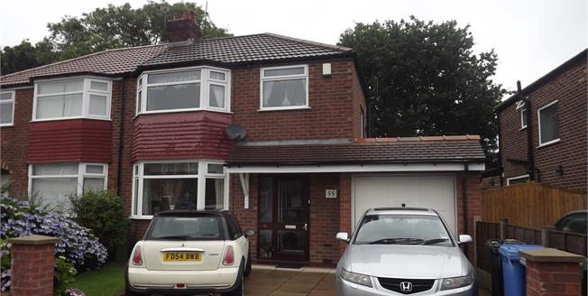 Asking Price £280,000, 3 Bedroom Semi Detached House For Sale in Sale, M33