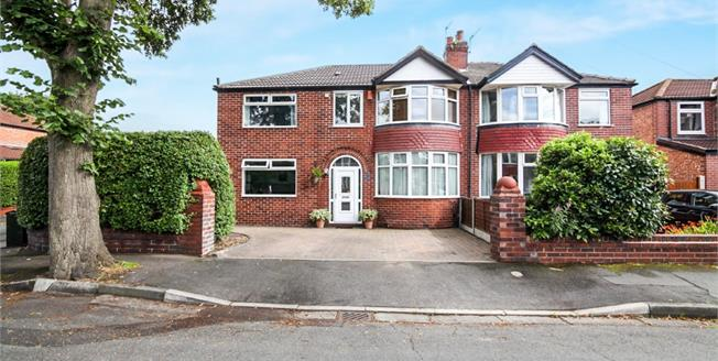 Guide Price £385,000, 4 Bedroom Semi Detached House For Sale in Sale, M33