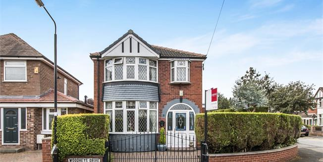 Offers in excess of £425,000, 3 Bedroom Detached House For Sale in Sale, M33