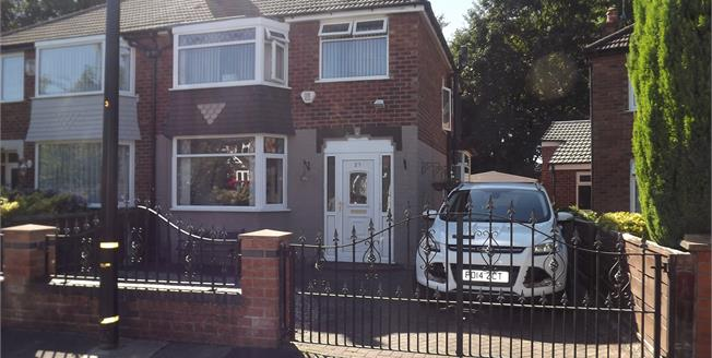 Guide Price £265,000, 3 Bedroom Semi Detached House For Sale in Sale, M33