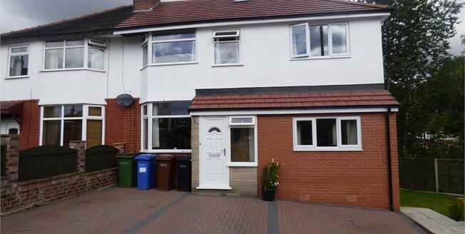 Offers in excess of £200,000, 3 Bedroom Semi Detached House For Sale in Bredbury, SK6