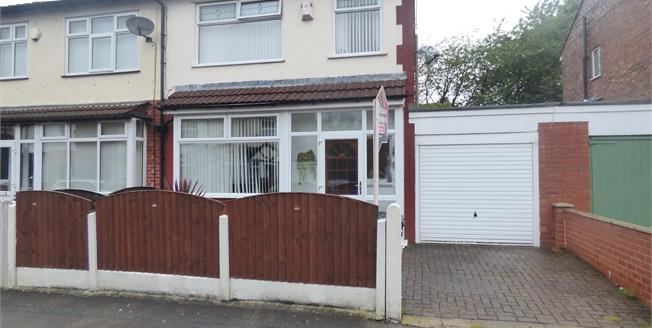 Offers Over £160,000, 3 Bedroom Semi Detached House For Sale in Stockport, SK5